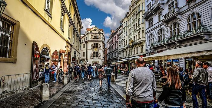 По улицам Чехии