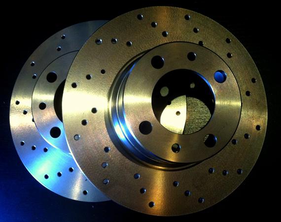 2 тормозных диска