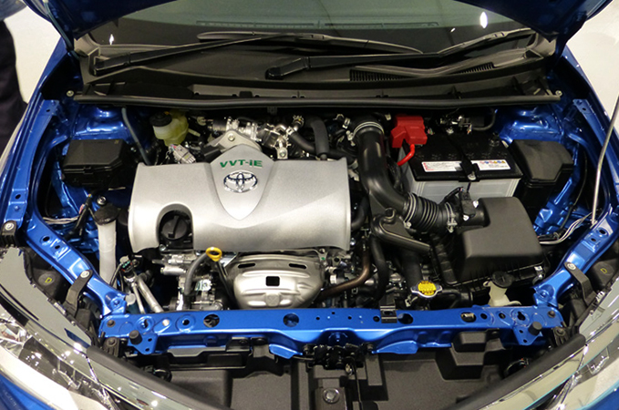 Новый двигатель 2NR-FKE
