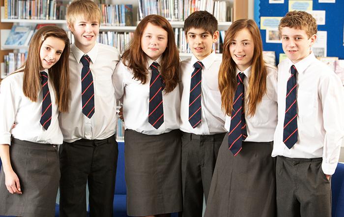 Ученики частной школы