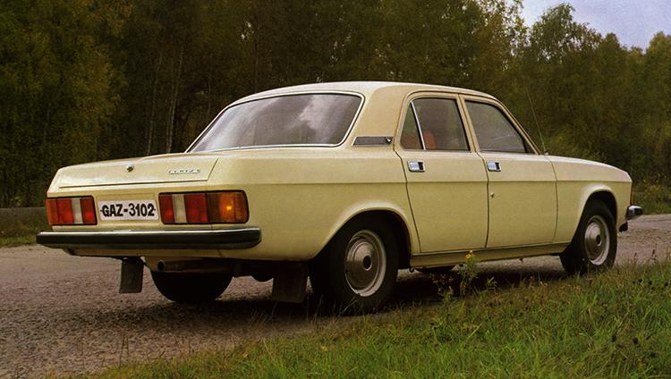 Светлый ГАЗ-3102