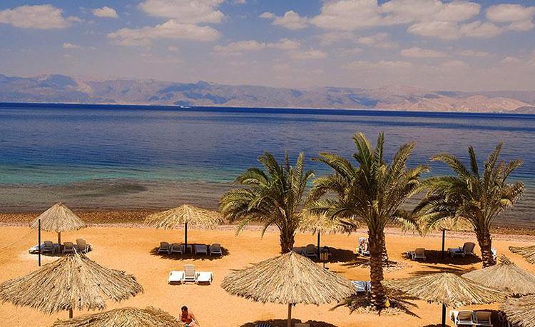 Пляж Иордании