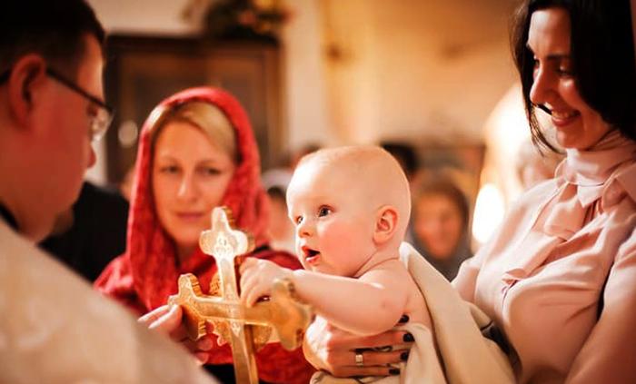 Процесс крещения