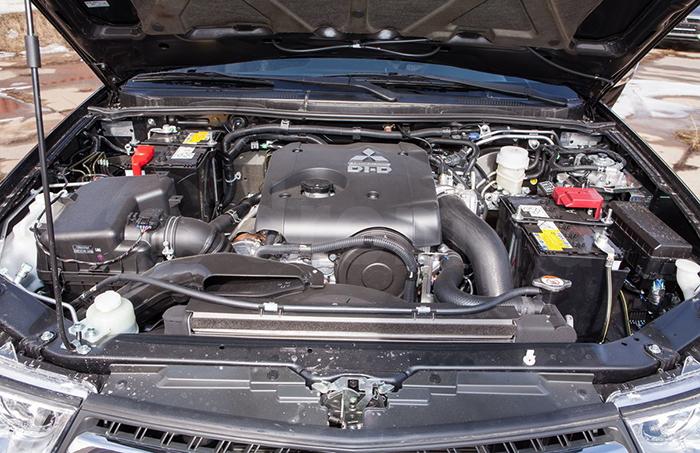 Двигатель Mitsubishi 4D56