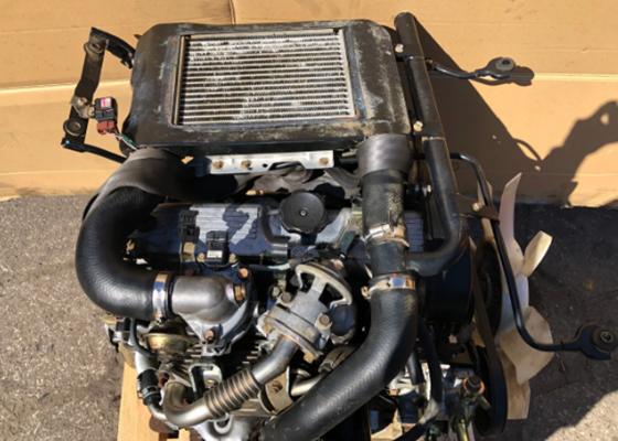 Новый Двигатель Mitsubishi 4D56