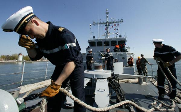 Моряк на службе