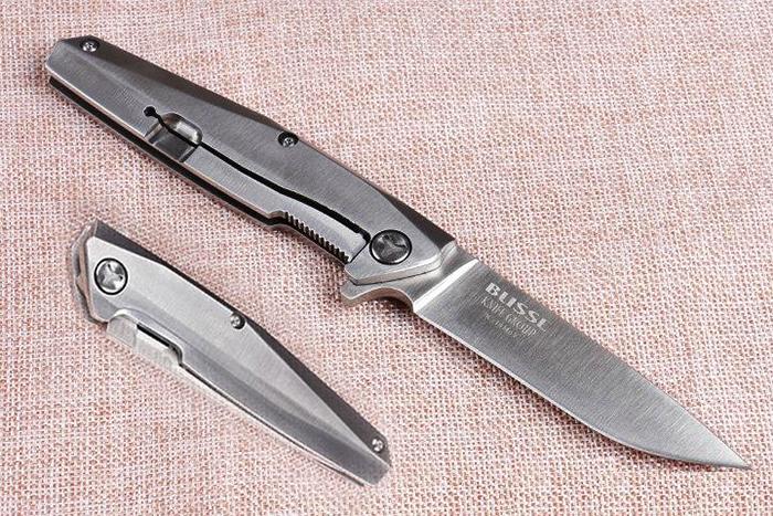Красивый нож 8cr14mov