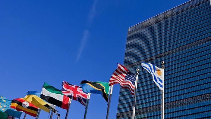 Флаги стран ООН