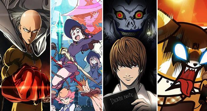 Разные аниме