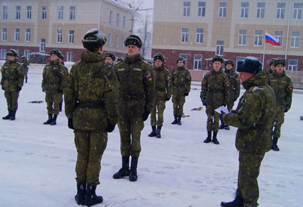 Солдаты РВСН