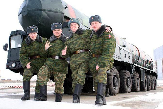 Служба в РВСН
