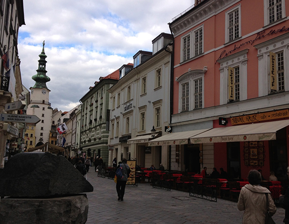 Улица Словакии