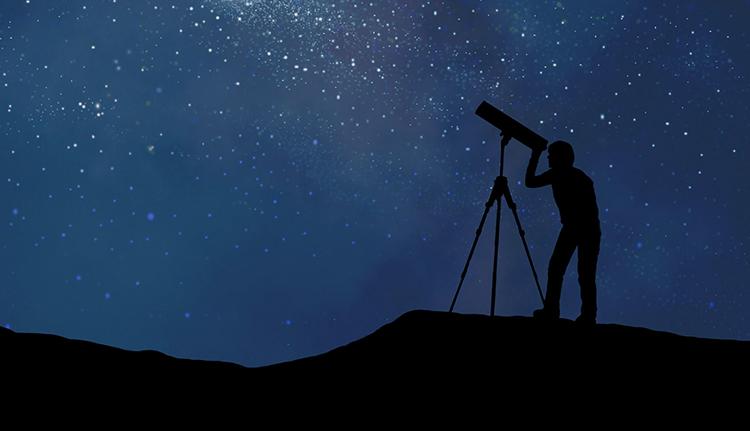 Использование телескопа