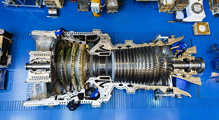 Новая газовая турбина