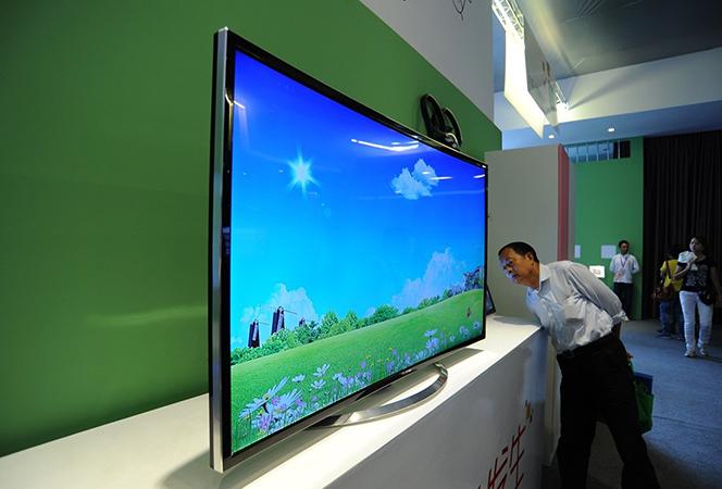 Китайский телевизор в магазине
