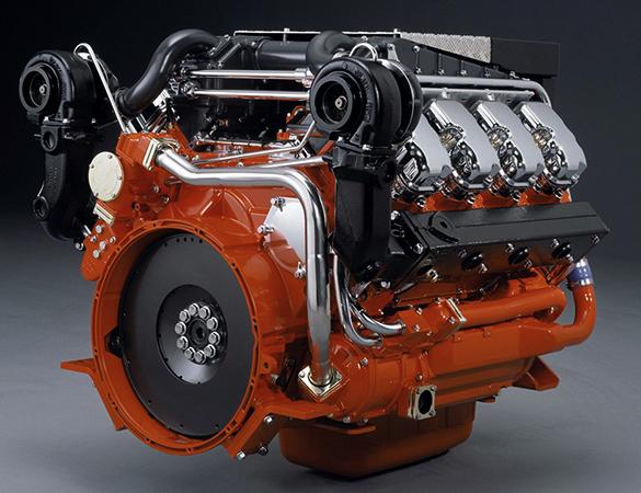 Вид двигателя после ремонта