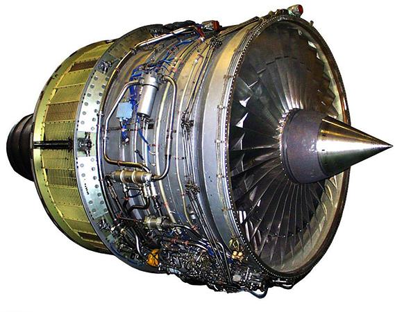 Вид реактивного двигателя