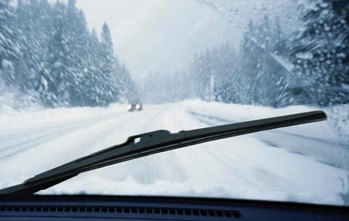 Зимние дворники на авто