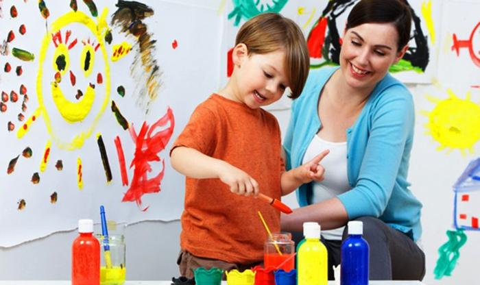 Ребенок в художественной школе