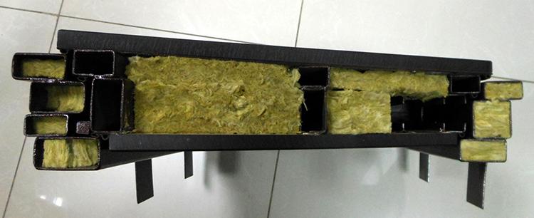 Базальтовая плита в двери