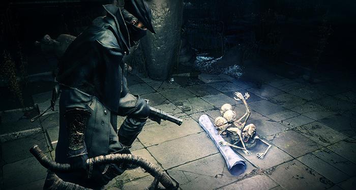 В игре Bloodborne
