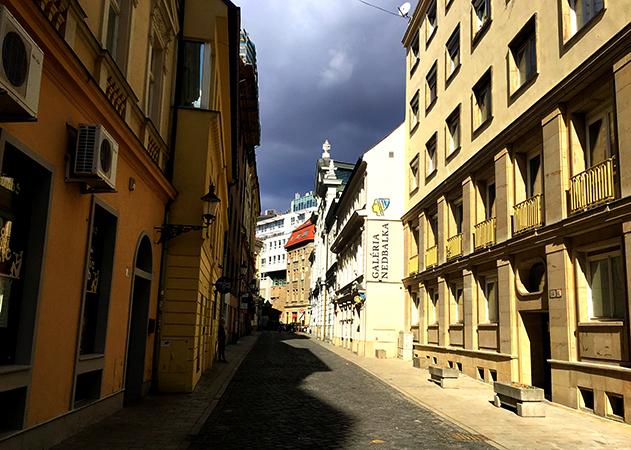 Улица Братислава