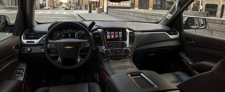 Салон Chevrolet Tahoe