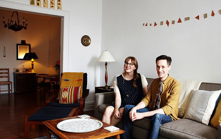 Пара в квартире