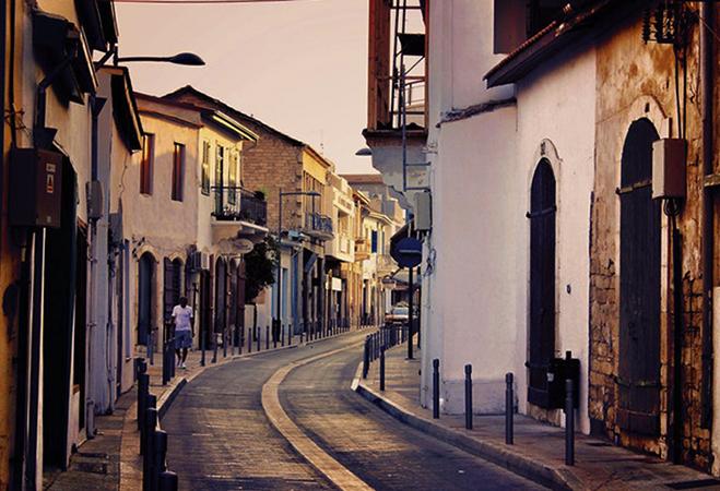 Улица на Кипре