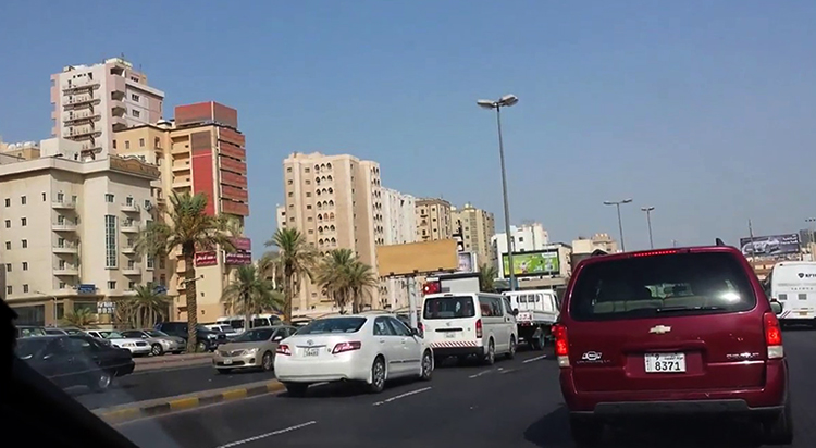 Дорога в Кувейте