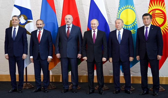 Главы стран ЕАЭС