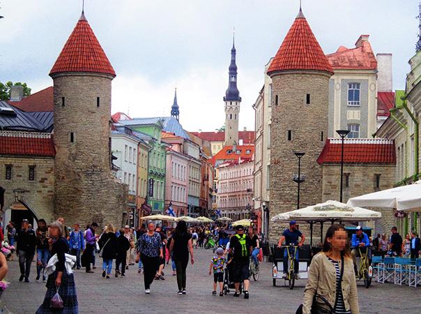 Люди в Эстонии