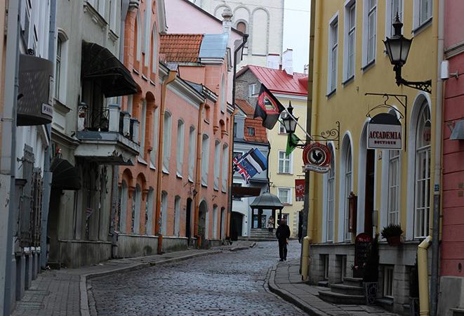 Улочка в Эстонии