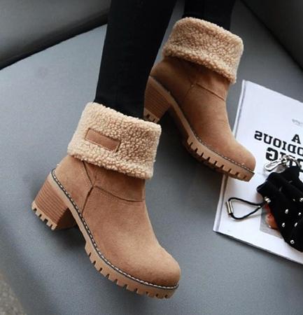 Новая обувь из флока