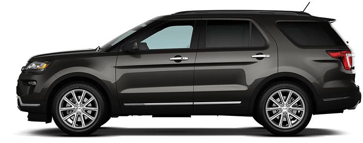 Ford Explorer в профиль