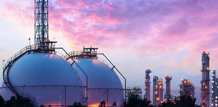 Хранилища газа