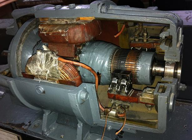 Вид генератора постоянного тока