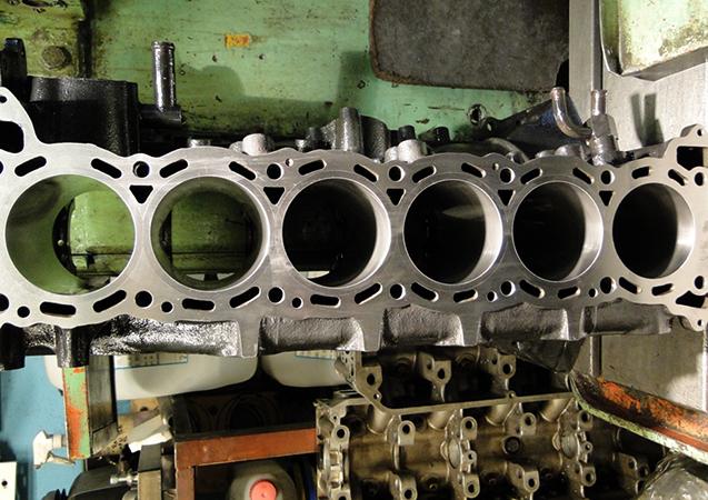 Гильзованный двигатель
