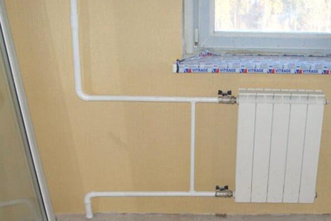 Горизонтальная разводка отопления в квартире