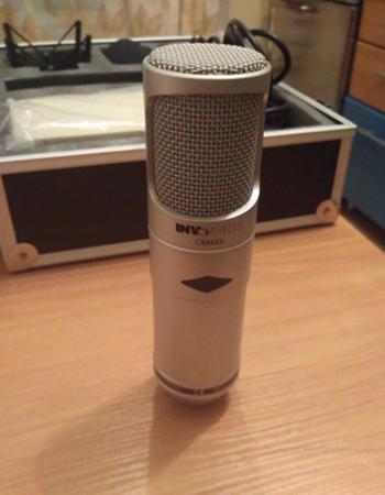 Профессиональный микрофон INVOTONE CM400L