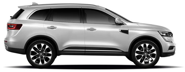 Renault Koleos в профиль