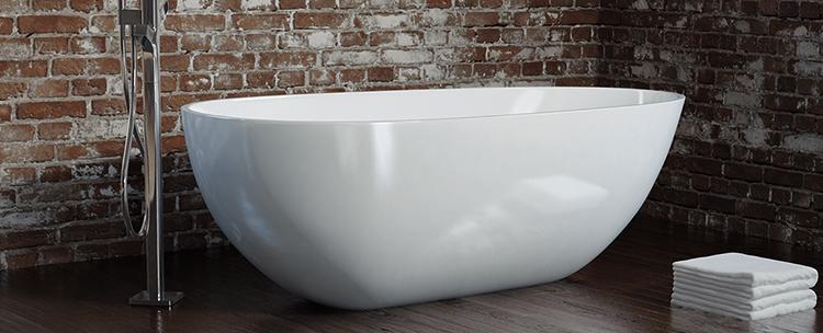 Современная композитная ванна