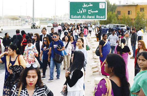 Люди в Кувейте