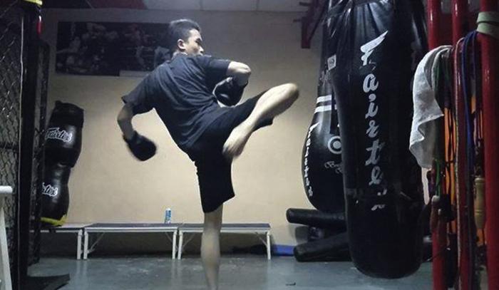 Тренировка MMA