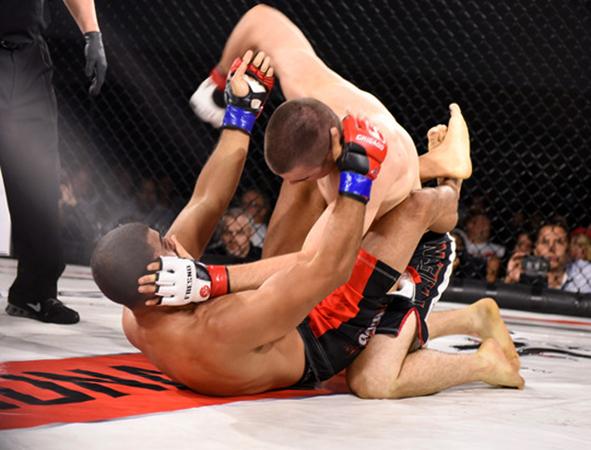 Бойцы MMA