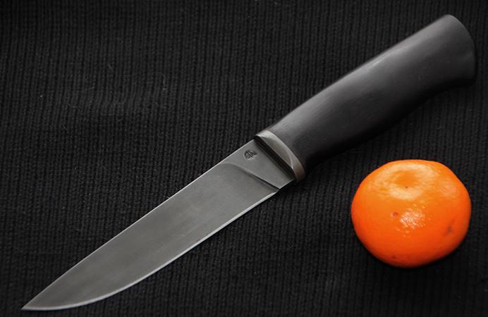 Новый нож из углеродистой стали