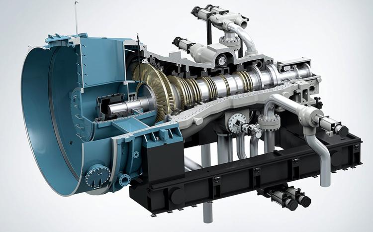Промышленная паровая турбина