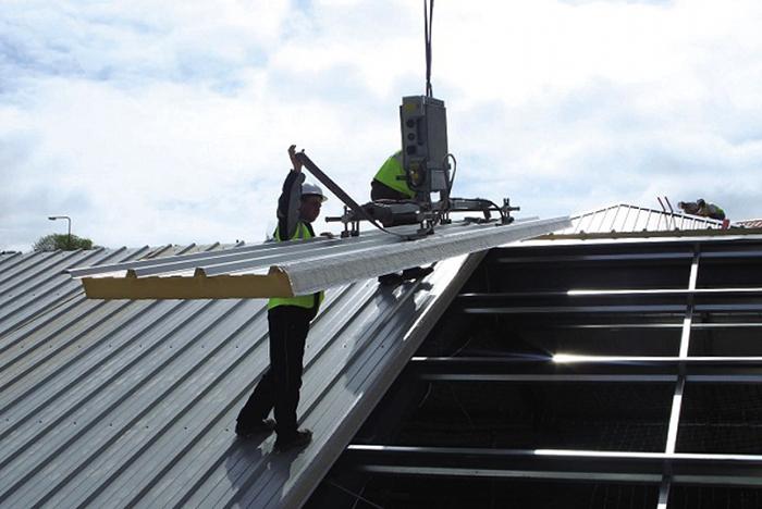 Работа с крышей