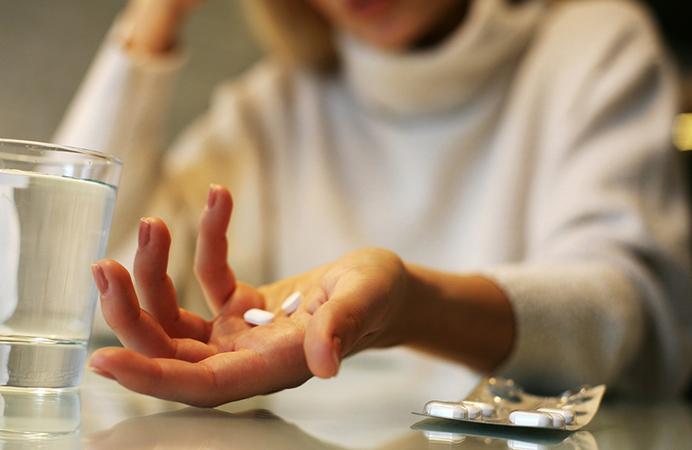 Прием седативных средств