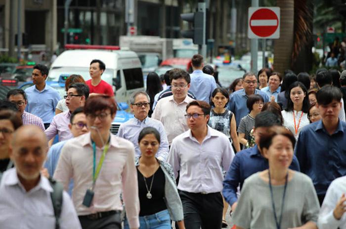Люди Сингапура